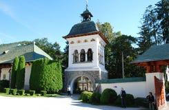 Πύλη του μοναστηριού Sinaia, Ρουμανία στοκ φωτογραφίες