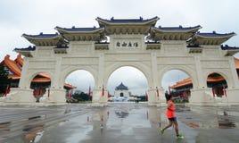 Πύλη του τετραγώνου ελευθερίας στη Ταϊπέι, Ταϊβάν Στοκ φωτογραφία με δικαίωμα ελεύθερης χρήσης