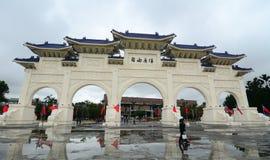 Πύλη του τετραγώνου ελευθερίας στη Ταϊπέι, Ταϊβάν Στοκ Εικόνες