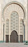 Πύλη του Hassan ΙΙ μουσουλμανικό τέμενος Κασαμπλάνκα Μαρόκο Στοκ φωτογραφία με δικαίωμα ελεύθερης χρήσης