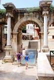 πύλη το hadrian s Στοκ Εικόνα