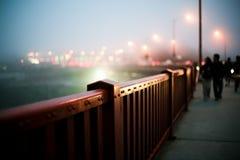 πύλη φραγών γεφυρών χρυσή Στοκ Εικόνες
