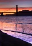πύλη χρυσό SAN franci γεφυρών Στοκ φωτογραφία με δικαίωμα ελεύθερης χρήσης