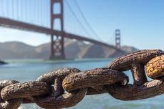 πύλη χρυσό SAN Francisco γεφυρών στοκ εικόνες με δικαίωμα ελεύθερης χρήσης