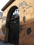 πύλη 13 παλαιά Στοκ εικόνες με δικαίωμα ελεύθερης χρήσης