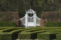 πύλη 2 κήπων Στοκ Εικόνες
