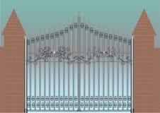 πύλη ελεύθερη απεικόνιση δικαιώματος