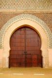 Πύλη Bab EL-Mansour, Meknes, Μαρόκο Στοκ Εικόνες