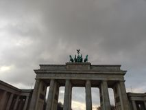 Πύλη Brandenburger στοκ εικόνες