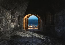 Πύλη Defterdarova στο φρούριο Kalemegdan, Βελιγράδι Στοκ Εικόνα