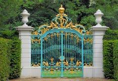 πύλη goldenblue Στοκ εικόνες με δικαίωμα ελεύθερης χρήσης