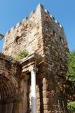 Πύλη Hadrian σε Antalya, Τουρκία. Στοκ Εικόνες