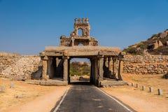Πύλη Hampi στοκ φωτογραφία