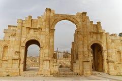 Πύλη Jerash Στοκ φωτογραφία με δικαίωμα ελεύθερης χρήσης