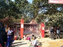 Πύλη Mandir στοκ φωτογραφία με δικαίωμα ελεύθερης χρήσης