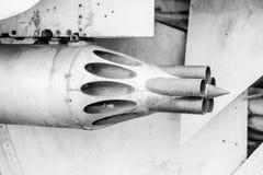 Πύραυλοι για τα unguided βλήματα Στοκ Εικόνες