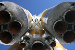 πύραυλος μηχανών Στοκ Φωτογραφία