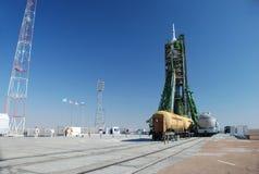 πύραυλος soyuz Στοκ Εικόνες