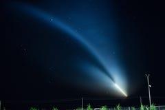 Πύραυλος Σογιούζ-FG έναρξης Στοκ Εικόνες