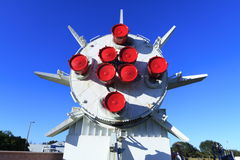 Πύραυλος του Κρόνου 1B στον κήπο πυραύλων Στοκ φωτογραφίες με δικαίωμα ελεύθερης χρήσης