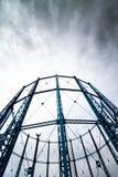 Πύργοι αερίου Στοκ εικόνα με δικαίωμα ελεύθερης χρήσης