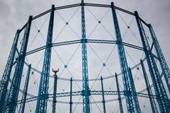 Πύργοι αερίου Στοκ εικόνες με δικαίωμα ελεύθερης χρήσης