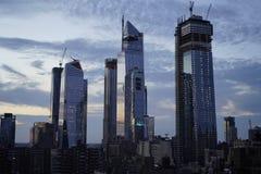 Πύργοι από τη Πέμπτη Λεωφόρος Νέα Υόρκη στοκ εικόνα