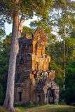 Πύργοι βόρειου Khleang σε Angkor Thom σύνθετο Στοκ φωτογραφίες με δικαίωμα ελεύθερης χρήσης