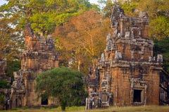 Πύργοι βόρειου Khleang σε Angkor Thom σύνθετο Στοκ Εικόνα