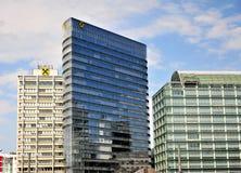 Πύργοι γραφείων της τράπεζας Raiffeisen στη Βιέννη Στοκ φωτογραφίες με δικαίωμα ελεύθερης χρήσης