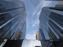 Πύργοι γραφείων Τράπεζας της Αμερικής στη Πόλη της Οκλαχόμα - ΠΌΛΗ ΤΗΣ ΟΚΛΑΧΌΜΑ - ΟΚΛΑΧΟΜΑ - 18 Οκτωβρίου 2017 Στοκ Εικόνες