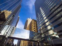 Πύργοι γραφείων Τράπεζας της Αμερικής στη Πόλη της Οκλαχόμα Στοκ Εικόνες
