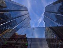 Πύργοι γραφείων Τράπεζας της Αμερικής στη Πόλη της Οκλαχόμα Στοκ εικόνες με δικαίωμα ελεύθερης χρήσης