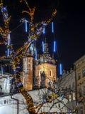 Πύργοι εκκλησιών Αγίου Mary Στοκ Εικόνες