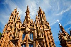 Πύργοι εκκλησιών του ST Anne Στοκ εικόνες με δικαίωμα ελεύθερης χρήσης