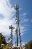 πύργοι επικοινωνίας Στοκ Εικόνες