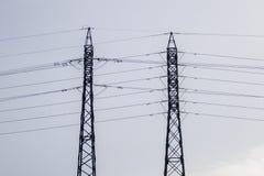 Πύργοι ηλεκτρικής ενέργειας Στοκ φωτογραφία με δικαίωμα ελεύθερης χρήσης