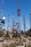 Πύργοι ηλεκτρονόμων Στοκ φωτογραφίες με δικαίωμα ελεύθερης χρήσης