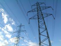 πύργοι ισχύος στοκ φωτογραφίες με δικαίωμα ελεύθερης χρήσης