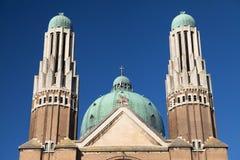 Πύργοι και θόλος της ιερής βασιλικής καρδιών Στοκ φωτογραφία με δικαίωμα ελεύθερης χρήσης