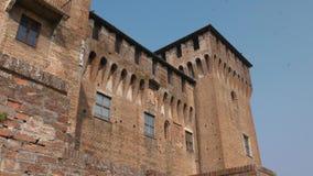 Πύργοι και τοίχοι του κάστρου Αγίου George σε Mantua φιλμ μικρού μήκους