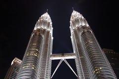 Πύργοι Μαλαισία Petronas Στοκ Εικόνα