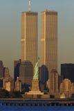 Πύργοι παγκόσμιου εμπορίου στοκ εικόνα