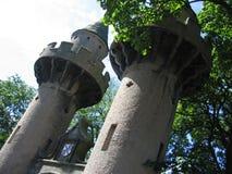 Πύργοι παραμυθιού Στοκ εικόνες με δικαίωμα ελεύθερης χρήσης