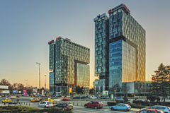 Πύργοι πυλών πόλεων, Βουκουρέστι Στοκ Εικόνα