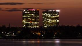 Πύργοι πυλών πόλεων Στοκ Φωτογραφία