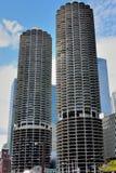 Πύργοι πόλεων μαρινών, Σικάγο Στοκ εικόνα με δικαίωμα ελεύθερης χρήσης