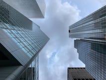 Πύργοι πόλεων της Νέας Υόρκης Στοκ φωτογραφίες με δικαίωμα ελεύθερης χρήσης
