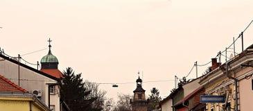 Πύργοι πόλεων Στοκ εικόνες με δικαίωμα ελεύθερης χρήσης