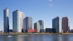Πύργοι πόλεων Long Island Στοκ φωτογραφία με δικαίωμα ελεύθερης χρήσης